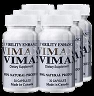 Vimax na zvětšení penisu a podporu erekce - 6 balení
