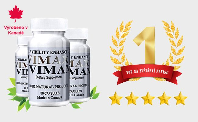 Vimax Pills - TOP 1 mezi prášky na zvětšení penisu
