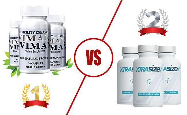 Vimax vs. XtraSize: DUEL - Prášky na zvětšení penisu
