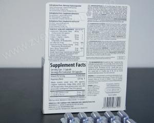 Andropharmia Penis - etiketa